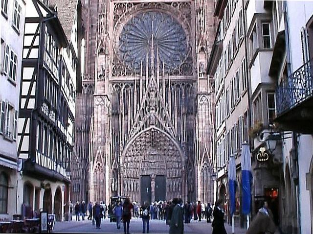 Cathrédrale Notre-Dame de Strasbourg