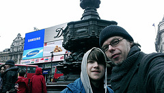 Picadilly Circus with Lewin