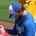 Mike Moustakas Signing Autographs (9837)