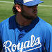 Mike Moustakas Signing Autographs (9856)