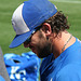 Mike Moustakas Signing Autographs (9862)