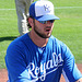 Mike Moustakas Signing Autographs (9877)