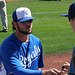 Mike Moustakas Signing Autographs (9878)