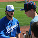 Mike Moustakas Signing Autographs (9879)