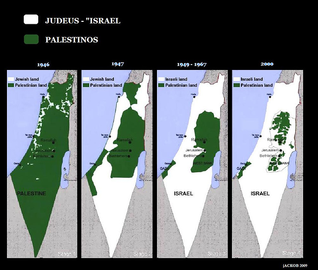 Okupado de Palestino