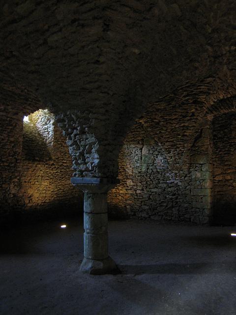 Château de Blandy - Le cellier