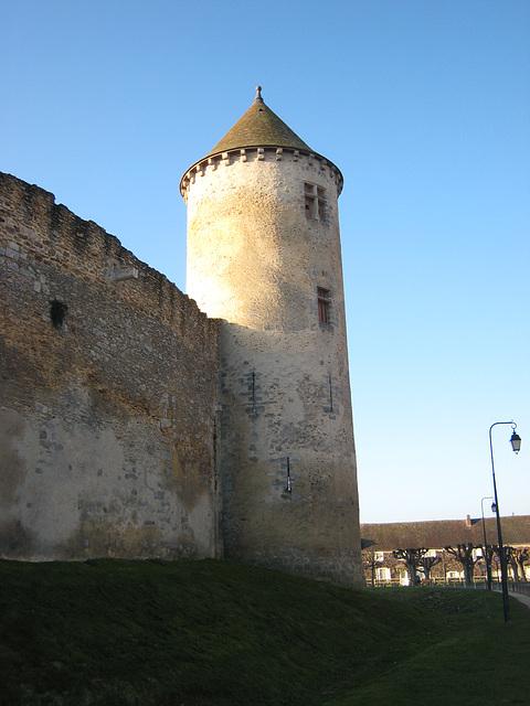 Château de Blandy - La tour nord
