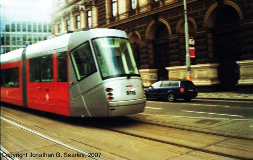 DPP #9115 At Karlovo Namesti, Prague, CZ, 2007