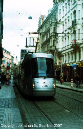 DPP #9118 at Vaclavske Namesti, Prague, CZ, 2007
