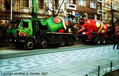 Hippie Cement Trucks, Namesti I.P Pavlova, Prague, CZ, 2007