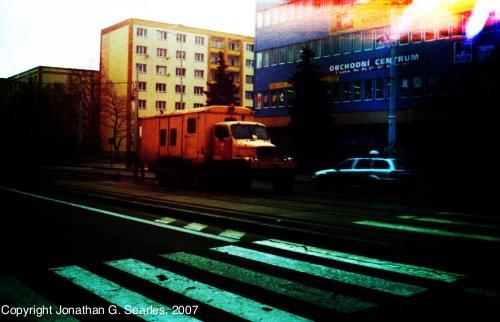 Praga Welding Truck, Obchodni Dum Petriny, Prague, CZ, 2007