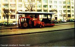 Tram Track Sealing Machine, Picture 3, Obchodni Dum Petriny, Prague, CZ, 2007