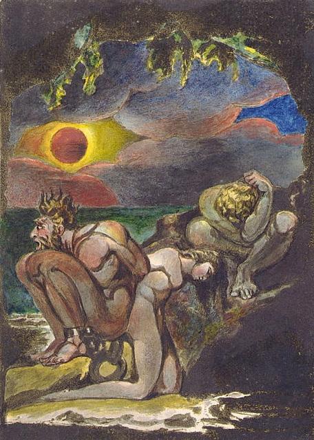 Daughters of Albion, œuvre de William Blake
