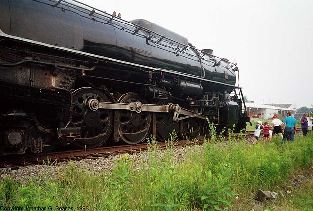 Ex-Milwaukee Road #261, Picture 7, Pocono Summit, PA, USA, 1995