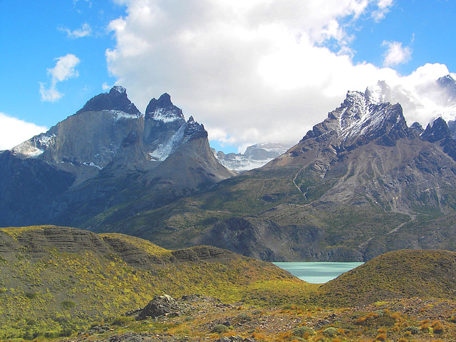 TORRES DEL PAINE , in chile