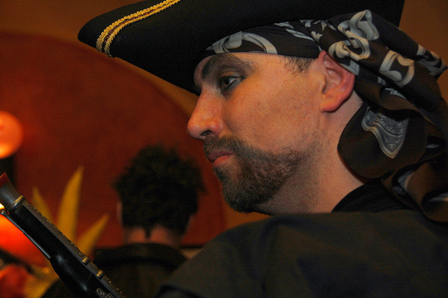 Buccaneer, with Pistol
