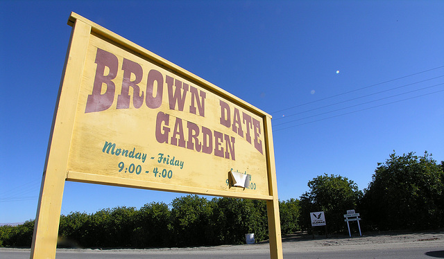 Brown Date Garden (6796)