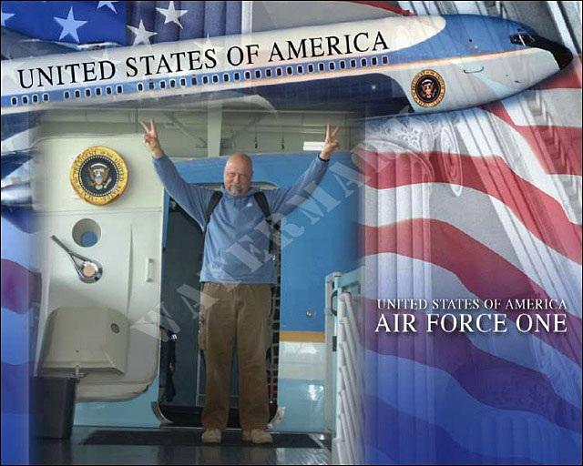 Ron at Air Force 1