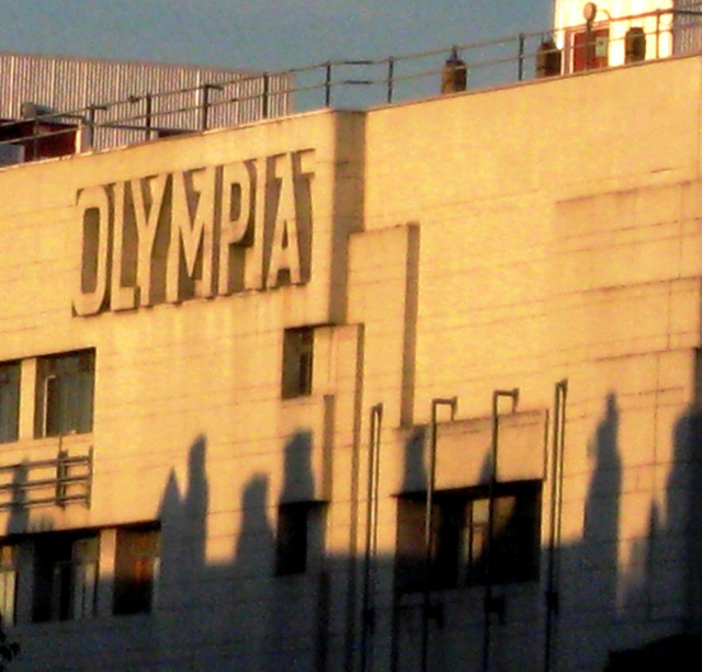 Olympian shadows