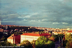 Southwest Prague From Petrinsky Sady, Prague, CZ, 2007