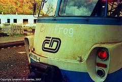 """CD #451 076-4 """"City Frog,"""" Praha Hlavni Nadrazi, Prague, CZ, 2007"""
