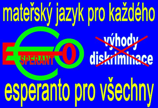 mateřský jazyk pro každého, esperanto pro všechny