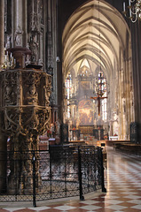 Window Light in St Stephen's Cathedral, Vienna