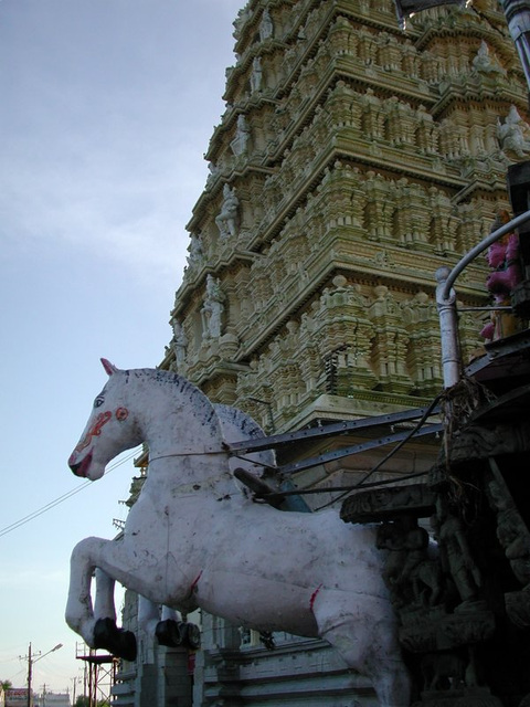 the temple of Mysore