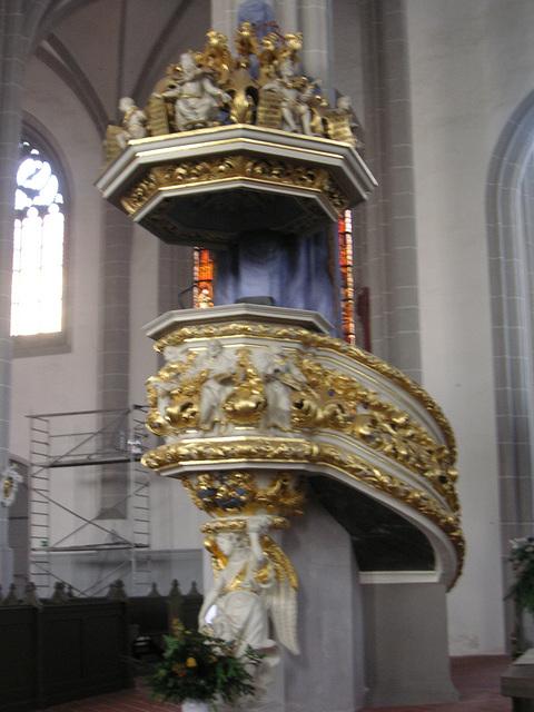 Görlitz - Peterskirche - Kanzel