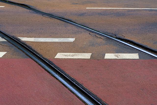 Tracks colorful