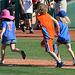 Kids Running The Bases at Hohokam Stadium (0708)
