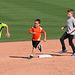 Kids Running The Bases at Hohokam Stadium (0711)