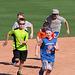 Kids Running The Bases at Hohokam Stadium (0712)