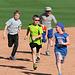 Kids Running The Bases at Hohokam Stadium (0714)