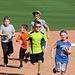 Kids Running The Bases at Hohokam Stadium (0715)