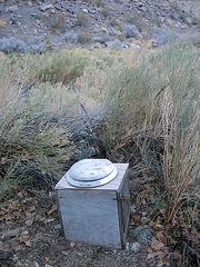 Johnson Canyon Toilet (8578)