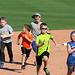 Kids Running The Bases at Hohokam Stadium (0716)