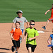Kids Running The Bases at Hohokam Stadium (0717)