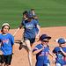 Kids Running The Bases at Hohokam Stadium (0725)