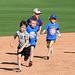 Kids Running The Bases at Hohokam Stadium (0728)