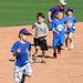 Kids Running The Bases at Hohokam Stadium (0729)