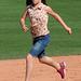 Kids Running The Bases at Hohokam Stadium (0731)