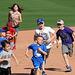 Kids Running The Bases at Hohokam Stadium (0732)