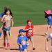 Kids Running The Bases at Hohokam Stadium (0734)