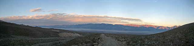 Death Valley From Johnson Canyon