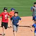 Kids Running The Bases at Hohokam Stadium (0843)