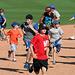 Kids Running The Bases at Hohokam Stadium (0846)