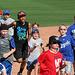Kids Running The Bases at Hohokam Stadium (0847)