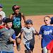 Kids Running The Bases at Hohokam Stadium (0848)