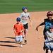 Kids Running The Bases at Hohokam Stadium (0851)